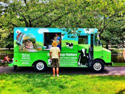 Summertime in Boston with #OMGFreeBenJerrys! - @BenJerrysTruck