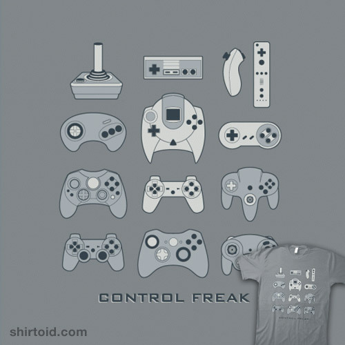 Control Freak available at BustedTees