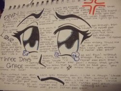 rune-midgarts:  weaboostories:  the best of deviantart  three days grace