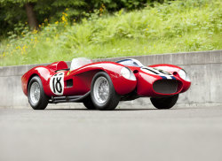 thedailyfeed:  This 1957 Ferrari Testa Rossa sold for a record $16.4 million at auction.