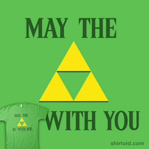 shirtoid:  A Link to the Force available at SnorgTees