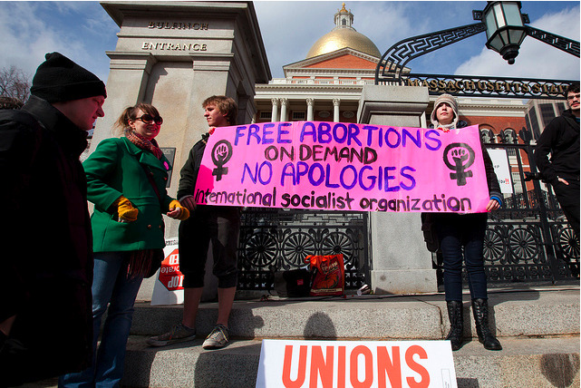 subconciousevolution:  Free Abortions on Demand, NO APOLOGIES!