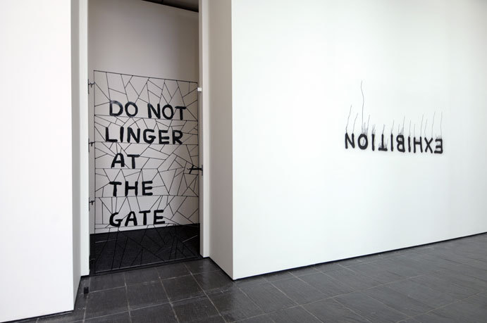 visual-poetry:  exhibition by david shrigley