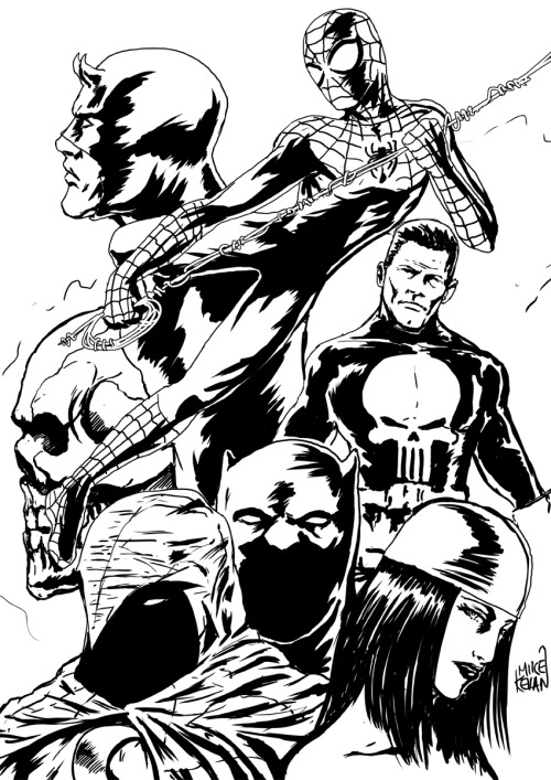 Marvel Knights.