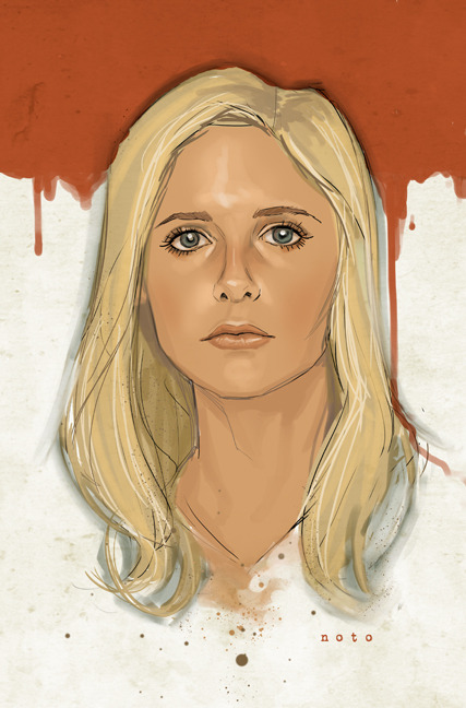 "philnoto:  ""Buffy"" - Let me just say that I love working in the Whedonverse :)"