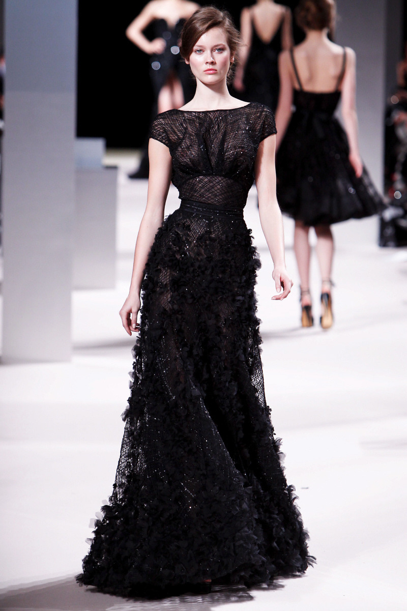 Black wedding dress inspiration | Elie Saab