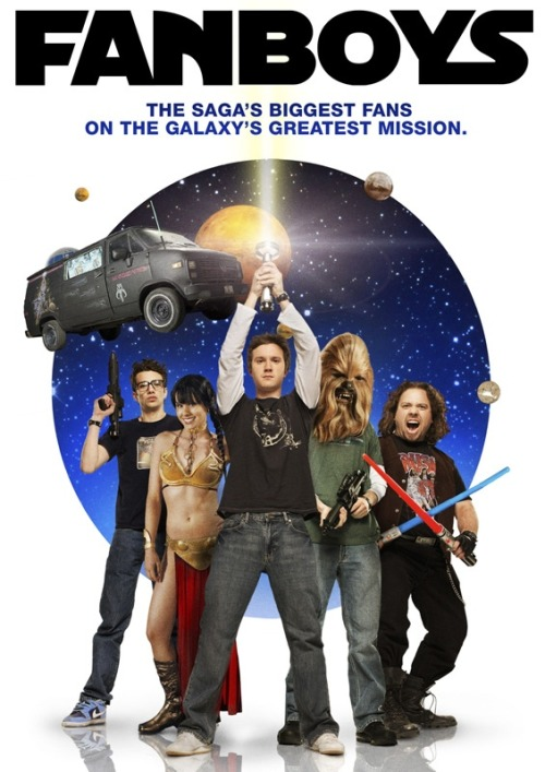 "Fanboys - PG-13 - Review This movie is one of those that at least everyone should see once. Definitely need to see if at all your a Star Wars fan. One of those movies filled with great cameo's from star wars and there willing to poke fun at themselves knowing what the movies about. Speaking of which the movie is about 4 friends, then 5 friends who decide there going to travel across the US to go to skywalker ranch to see an early cut of episode one and calamity begins. Which they do end up making it to the ranch and one of them does get to see the copy. but one of my favorite lines of the film and its the last line of the film is there all sitting there ready to watch and the last line is ""what if it sucks"". Which is funny considering most peoples thoughts on episode one so funny movie overall. Just a very well put together film all the characters were right for the film. Just one of those nerd/stars wars/comic book awesomeness movies. Also because it is sort of Kevin Smith week for me he and Jay Mewes both make a cameo in this film so. This is another that if you like Star Wars at all and love those films you will enjoy this film. 8.5 out of 10 Vogies"