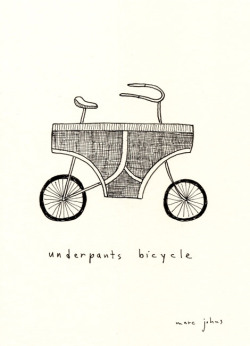 laughingsquid:  Underpants Bicycle