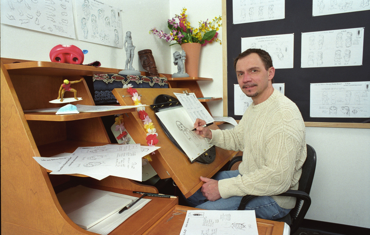refrederator:  Here's a nice interview with animator Andreas Deja from a few years back.