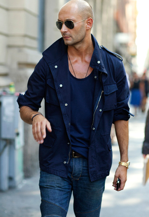 menofhabit:  Summer outerwear