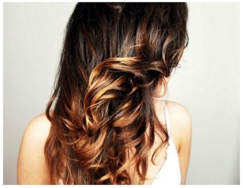 I want this to be done in my hair.