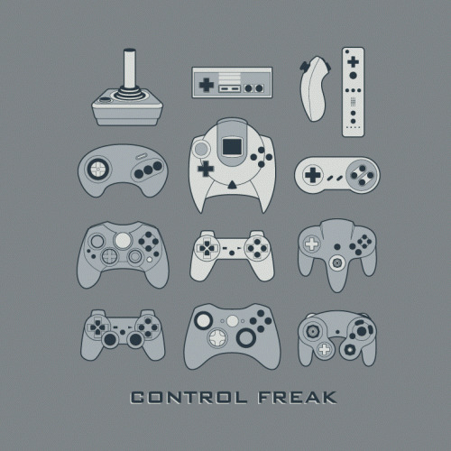 "I'm a Control Freak justinrampage:  Are you a complete ""Control Freak""? Video game controllers, of course… Well, if so, BustedTees has you covered with their new shirt design on sale! Control Freak at BustedTees (Facebook) (Twitter)"