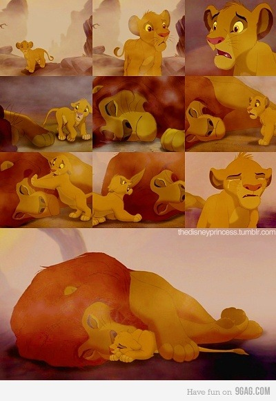 9gag:  Most heartbreaking scene of almost everyone's childhood  today seems to be disney day and this just topped it. yup. i just cried in my cubicle…