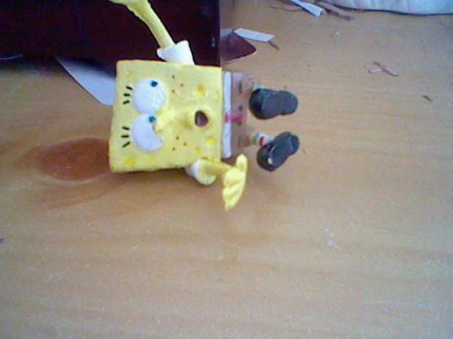 lol. Poor Spongebob XD