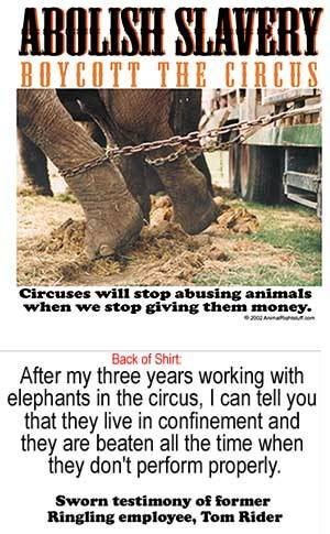 animalkasey:  Boycott the Circus!