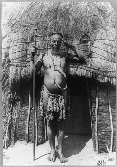 arcadia23:  Zulu chief, 1887.