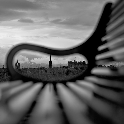 "#Photography Love the perspective in this ""Bench-ed"" shot by James Christie. Reblogged via scoutit"