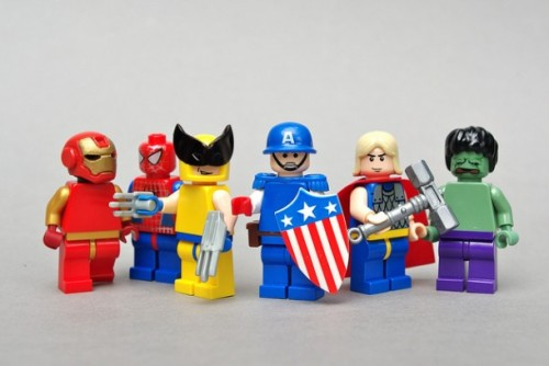 """Minifigs with Superpowers"" by Dunechaser Via: Kuriositas"