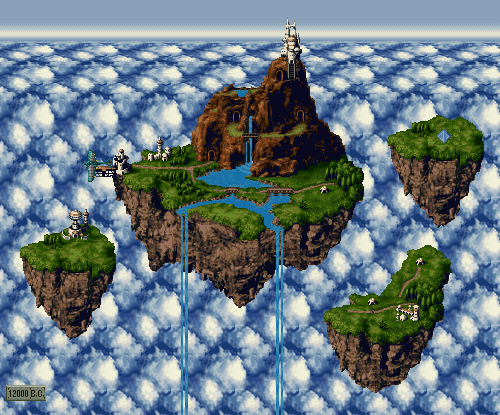 I always wanted to live here jackal27:  Chrono Trigger - The Kingdom of Zeal
