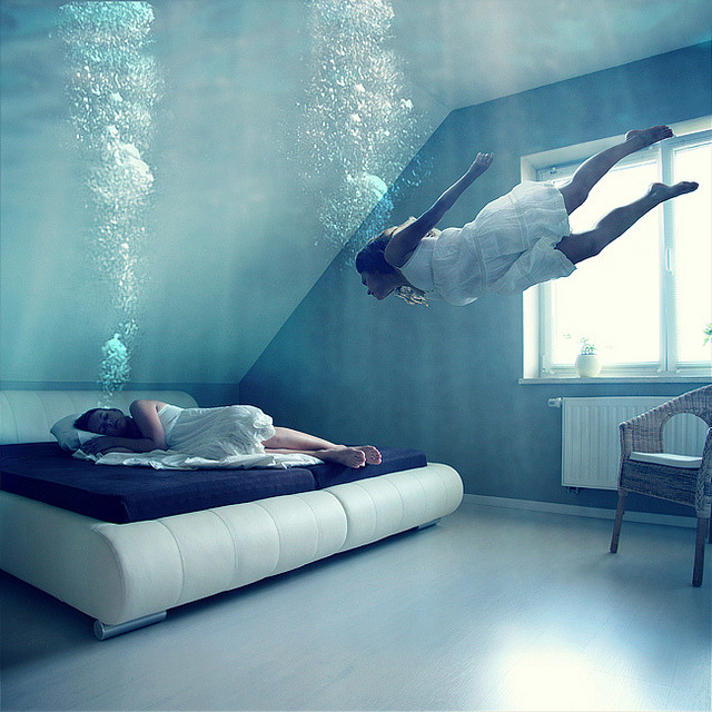 spectralworld:  sink me in the ocean by =anja= on Flickr.