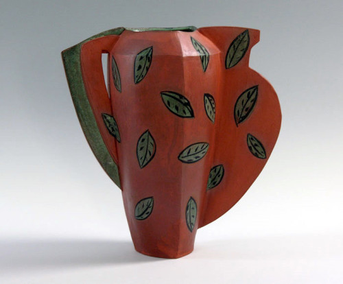 Barbara Fehrs: Faux Greek Vessel (back view)