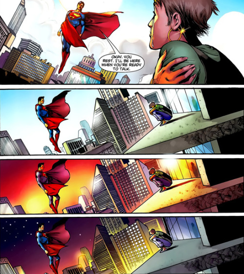 miss-mgann:  Fuck, what are all these feelings. I am sobbing. -Superman #701