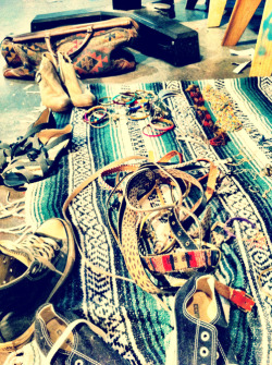 hurleygirls:  Accessories for the Spring '12 catalog photo shoot!