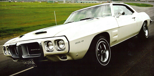 you-duh-sexuy:  1969 Pontiac Firebird Trans Am Hardtop by coconv on Flickr.