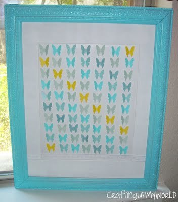 (via Crafting Up My World: Butterfly Specimen Art for My Gallery Wall)
