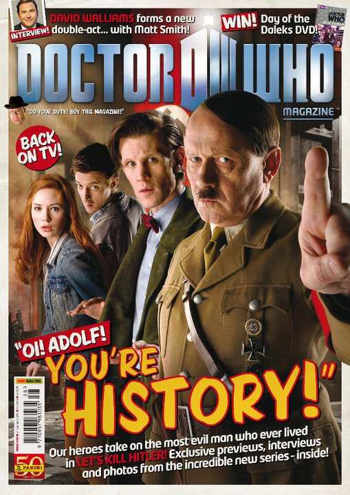 doctorwho:  Cover of Doctor Who Magazine issue 438 by Stuart Manning  Not gonna lie. As a MASSIVE German History geek this makes me jump around my room in excitement.
