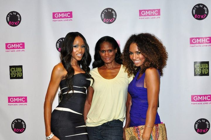 janetmock:  Ayana, Tracy Africa and Janet Mock at 21st Annual House of Latex Ball in NYC
