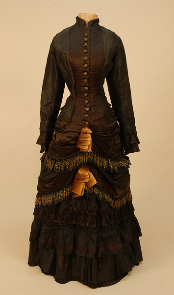 oldrags:  Day dress, 1880-82