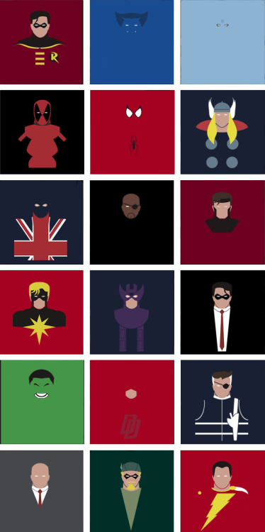 herochan:  Superhero Shirt Designs 2 - by Chris Doey Each shirt is available @Redbubble for $22.94 (USD) See part 1 here (Created & submitted by boreddesigner)