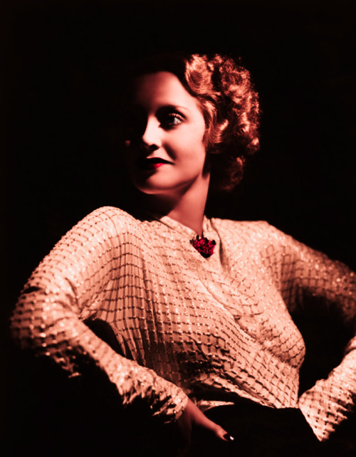 theflapperfactor:  Feminists of Film, Round One: Bette Davis Any conversation on feminism in film would be pointless without the mention of Bette Davis. To this day she is the symbol of the strong female on the silver screen; completely in control of her life and not about to cede that power to anybody. The basic Bette character sketch is made up of a strong woman (who may be attached to a man, but doesn't have to be) , something dreadful that happens to her, and how she comes out the other end victorious. The thing that has always singled Bette out is the fact that she wasn't innocent, doe-eyed, or even trying to be good. This last point was what separated her from Joan Crawford's strong female (whom I will touch on in round two). Bette never wanted to make the grade, she wanted to acheive her goal. In not following trends, she learned set them. When it comes to her impact on women in America, Bette didn't gain real influence until she had her falling out with Paramount. Like Garbo before her, taking on a studio gave Bette the biggest break she could get. It gave the average American a chance to see and understand her personality for the first time, and when they saw a liberated woman trying to be a legitimate actress through means other than the casting couch, they stood up and begged for more. From that time on, Female rolls in film changed dramatically, and, like it or not, Bette was the new black