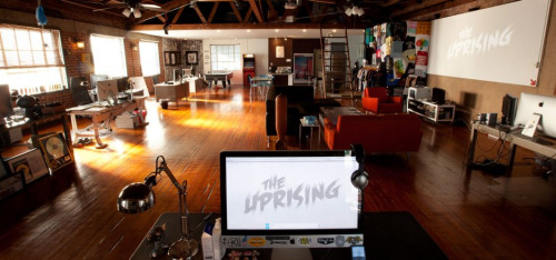 designdetox:  Cool work and cool space - The Uprising.