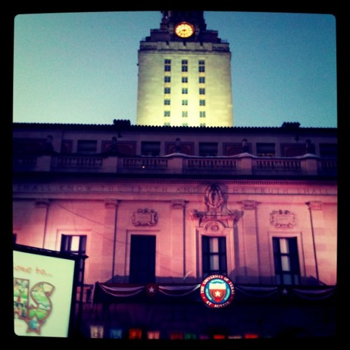 Gone to Texas! (Taken with Instagram at Main Building/The Tower (MAI))