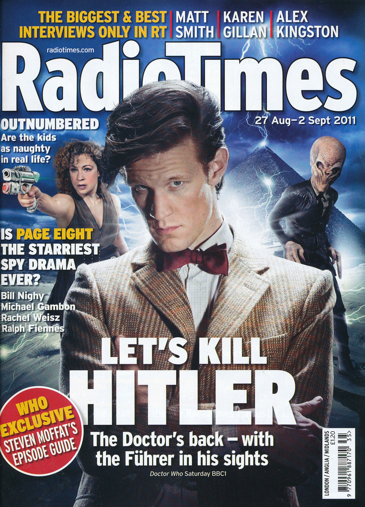 doctorwho:  Let's Kill Hitler cover of Radio Times  mweep! :3