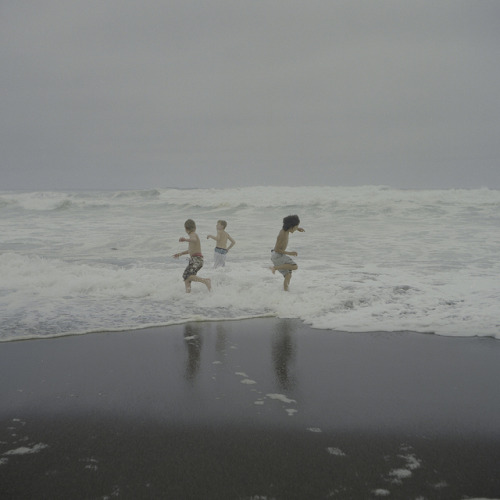 Wayne Bremser, a cold wave, Manchester State Beach, California, 2010