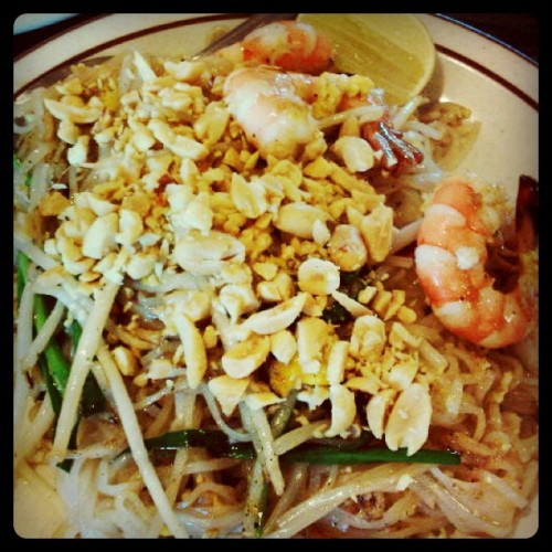 Pad Thai | S&L Thai, Fairfield (Taken with instagram)