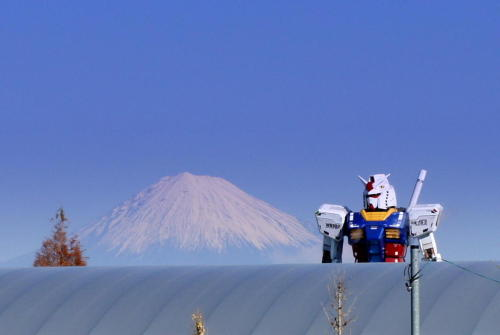 byronly:  The former 1/1 RG Gundam in Shizuoka, Japan.