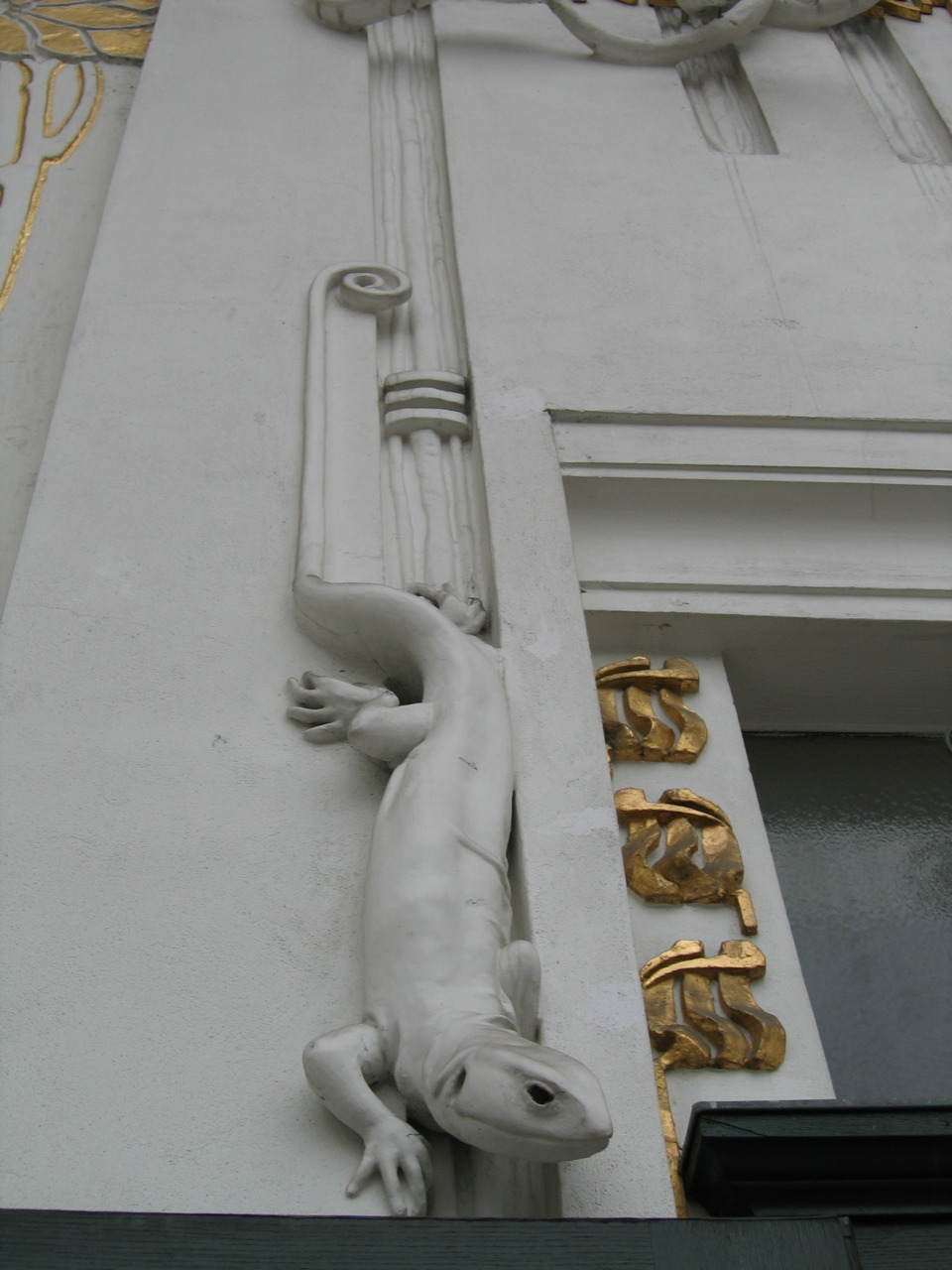 Secession Building detail, Vienna.