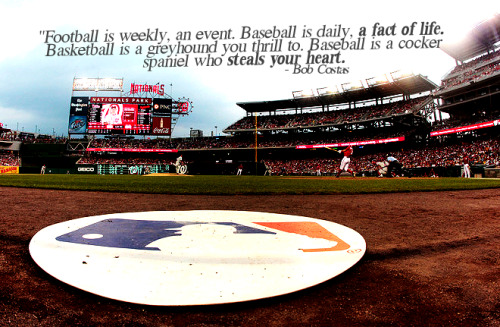 lionsandbaseball:  grandymancan:  Tumblr of amazing baseball quotes? Am I dreaming? This is amazing.  Goodness, I love this.