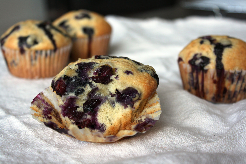 Blueberry muffins.. yum