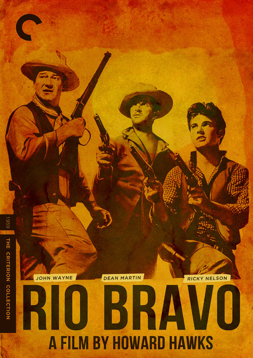"Criterion Cover for Howard Hawk's ""Rio Bravo"""