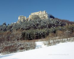 "Lietavský Hrad | Lietava Castle Slovakia Location: 49.160627, 18.684903 Architecture: Gothic One of the biggest castles in Slovakia. Built after 1241, situated in the Žilina District of northern Slovakia, between the villages of Lietava and Lietavská Svinná-Babkovon on the hill Cibuľník in the mountains Súľovské vrchy, in altitude 633 meters, as an administrative and military centre. In the 14th century belonged to Matúš Čák of Trenčín ""Lord of the river Váh and the Tatra Mountains"".In the 16th century Thurzo family gained it. It was reconstructed and fortified, and given its own military garrison. After the death of Imrich Thurzo in 1621 grabby descendants disputed until they lost interest of it. The castle report in 1698 said that the castle was uninhabited and there was only an archive, which was moved to the Orava Castle in the 1760s. After that, the castle was abandoned and not used any more.  The inner part of building features the original Gothic design, while the settlement around the castle is Late Gothic in style. The ruins have recently been restored and are now open to the public, offering a superb view of the surrounding countryside. The castle is for many tourists popular place thanks to impressive atmosphere. You can help with further reconstruction of the castle through World Monuments Fund."