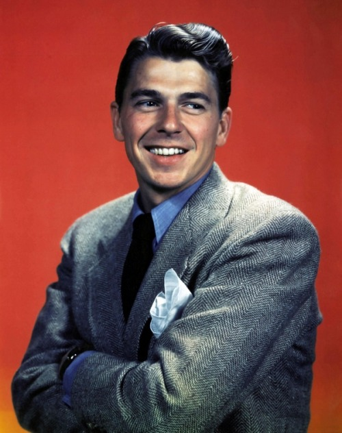 theniftyfifties:  Ronald Reagan