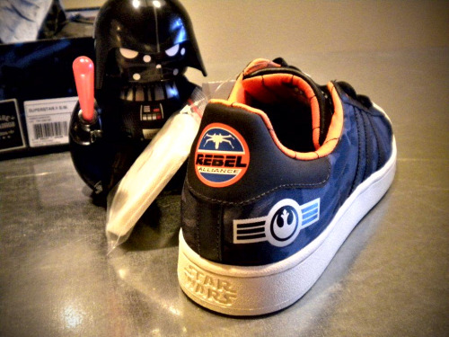 Adidas Superstar II (Rogue Squadron) Star Wars & Darth Vader