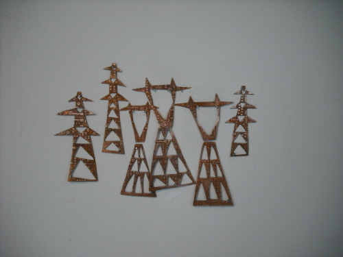 Annica Damico etched and hand-cut copper