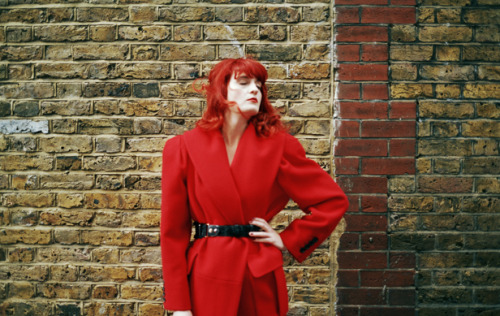 Florence Welch for Wonderland Mag.