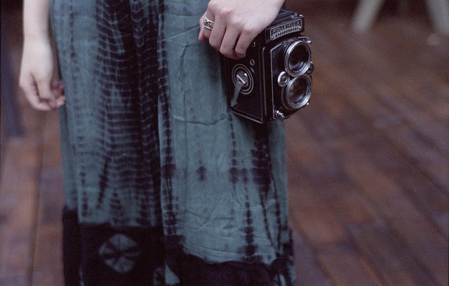 Rolleiflex girl on Flickr.